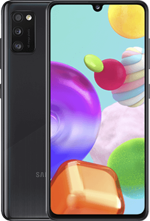 Samsung Galaxy A41 64GB Zwart