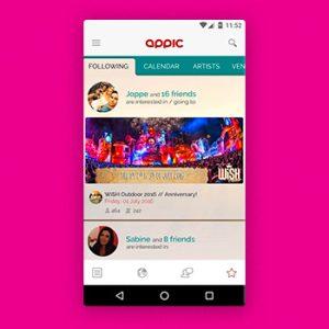 Festival apps Appic Tele2