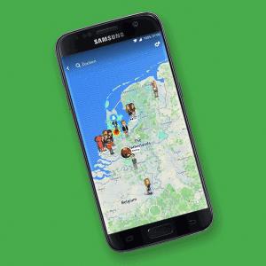 Snap Map Snapchat Tele2