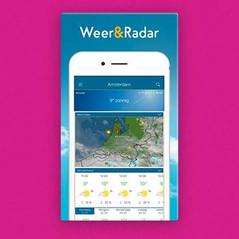 weer app Weer & Radar Tele2