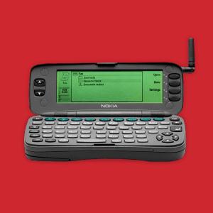 Evolutie mobiele telefoon Nokia 9000 Communicator Tele2