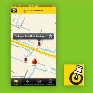veilig verkeer apps Fietsersbond Meldpunt Tele2