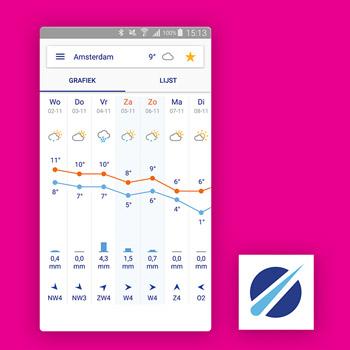 Buienradar regen app