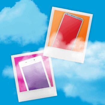 Foto's bewaren in de cloud Tele2