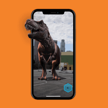 iPhone X Augmented Reality Tele2