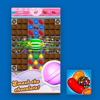Gratis games Candy Crush Saga Tele2