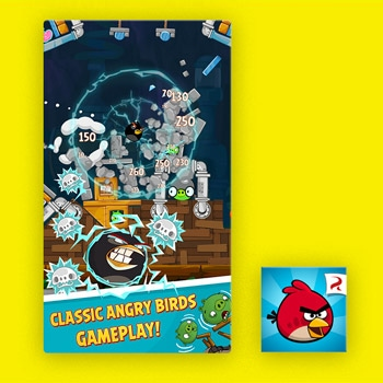 Gratis games Angry Birds Tele2