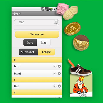 Sinterklaas apps Rijmpiet Tele2