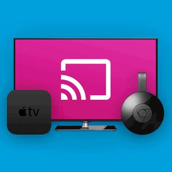 Tv streamen Chromecast Apple TV Smart TV Tele2