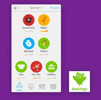 Vertaal app DuoLingo Tele2