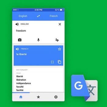 Vertaal app Google Translate Tele2