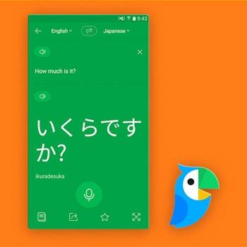 Vertaal app Papago Tele2