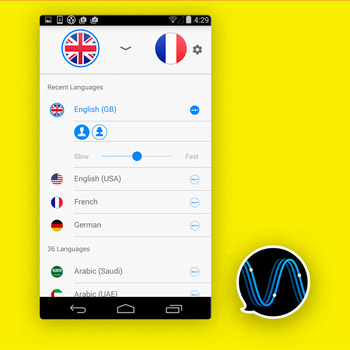 Vertaal app iTranslate Voice 3 Tele2