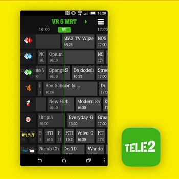 tv gids app Tele2 Online TV App Tele2