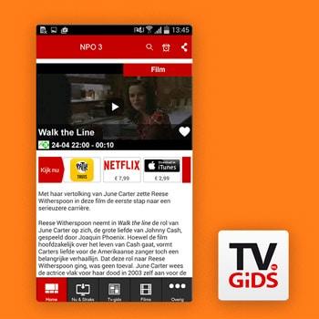 tv gids app tvgids.nl Tele2