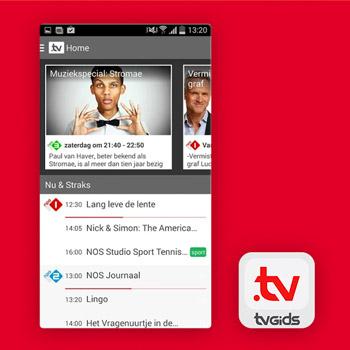 tv gids app tvgids.tv Tele2