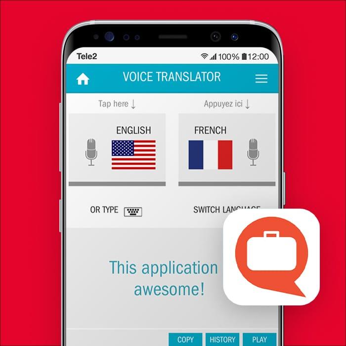 vertaal app TripLingo