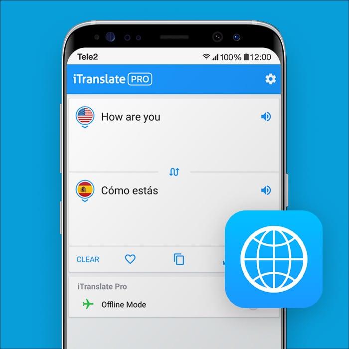 vertaal app iTranslate