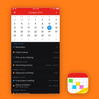 agenda app fantastical 2 tele2