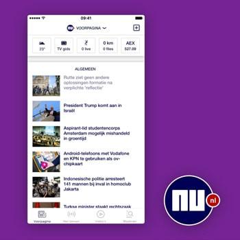 nieuws app nu tele2
