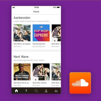 muziek app soundcloud tele2