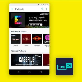 muziek app tunein radio tele2