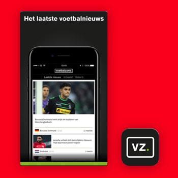 voetbal app voetbalzone tele2