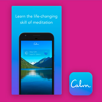 meditatie apps Calm Tele2