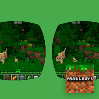virtual reality apps Minecraft Tele2