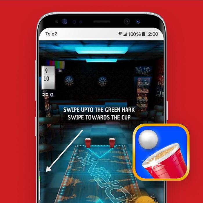 Beer Pong Trick-bier-app-Tele2Blog