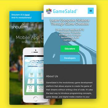 hoe maak je een app GameSalad Tele2