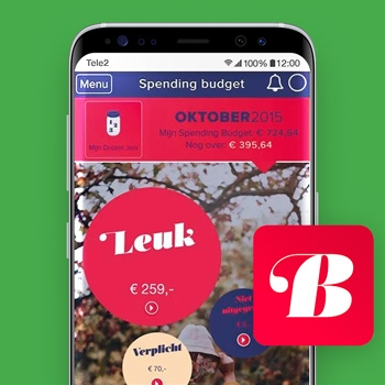 huishoudboekje app Budgettool Tele2