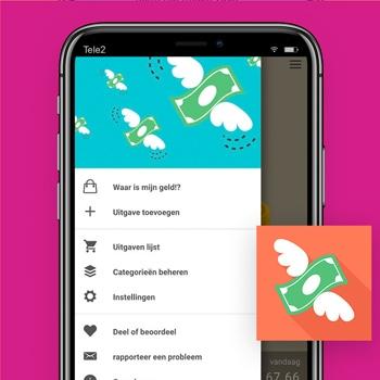 huishoudboekje app Waar is mijn geld Tele2