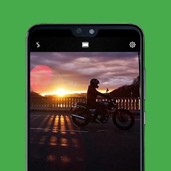 Huawei P20 fotograferen in donker Tele2
