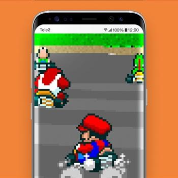 retro games smartphone app mario kart nintendo tele2