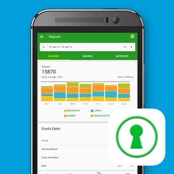 calorieteller app fatsecret afvallen gezond eten smartphone tele2