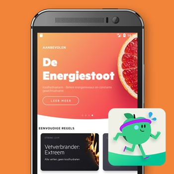 calorieteller app lifesum afvallen gezond eten smartphone tele2