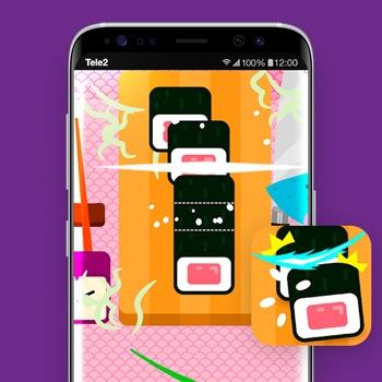 beste nieuwe game apps slashy sushi unlimited tele2