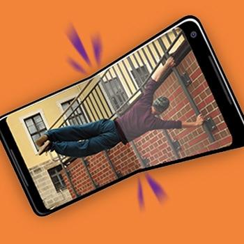 Vouwbare smartphone 2019 Tele2
