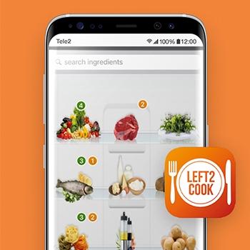 Left2Cook_recepten apps_Tele2