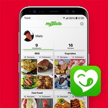 myTaste_recepten apps_Tele2