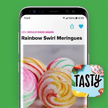 Tasty_recepten apps_Tele2