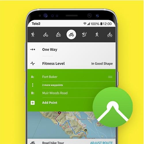 Komoot-beste-reis-apps-Tele2