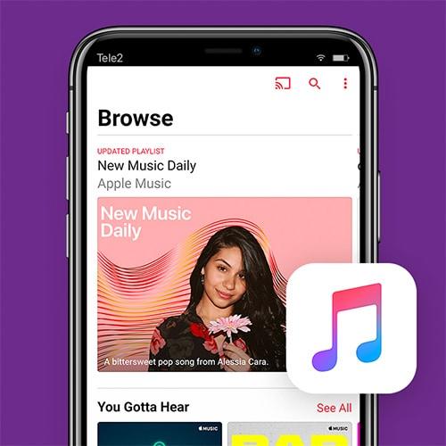 Apple-music-offline-muziek-luisteren-Tele2