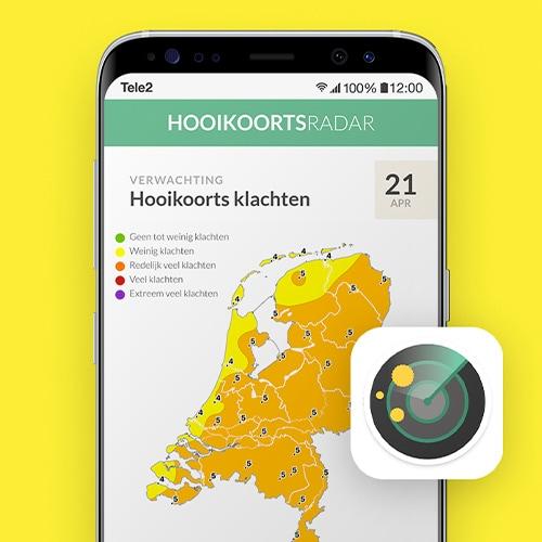Hooikoortsradar-Hooikoorts-app