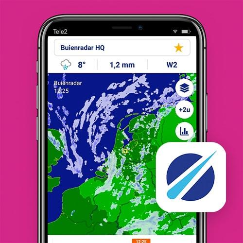 Buienradar-Hooikoorts-app