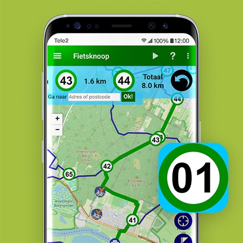 Fietsknoop-knooppunten-app-Tele2