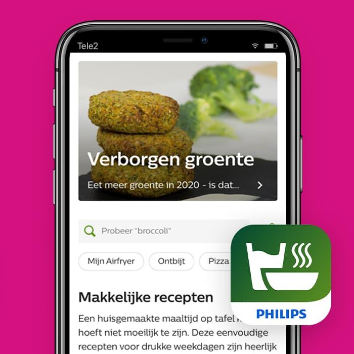 NutriU-Philips-app-airfryer-recepten-app-Tele2