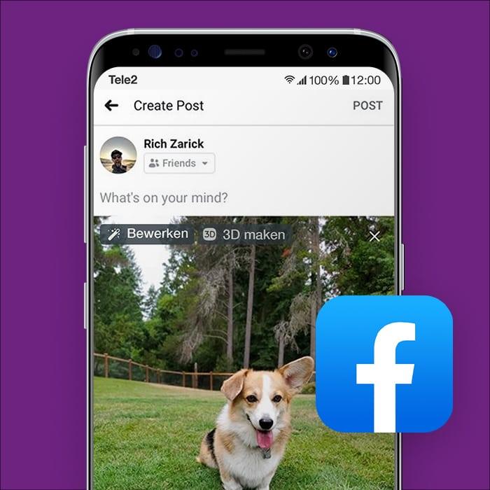 Facebook-3D-foto-maken-Tele2Blog