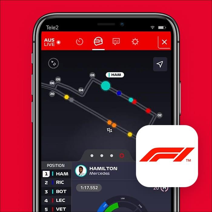 f1 app Formula 1